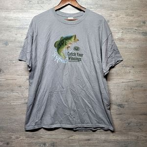 Vintage Fishing Graphic T Shirt. Perfect Condition